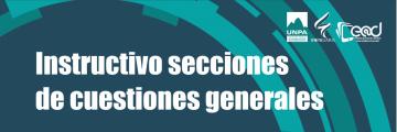 #02: sección Cuestiones Generales