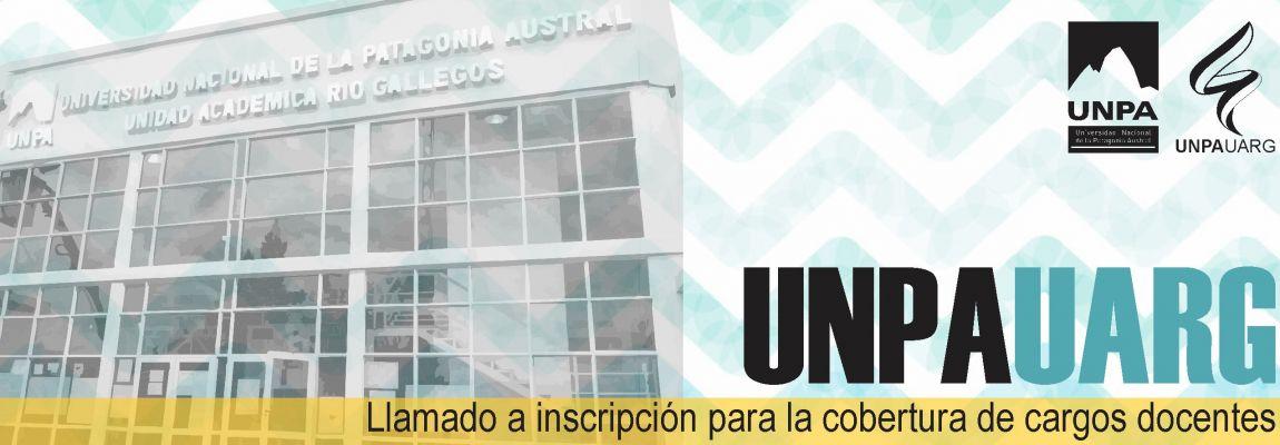 Inscripción para la cobertura de cargos docentes en la UNPA-UARG