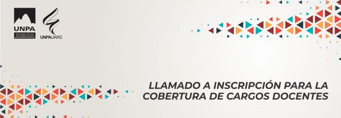 Área Psicología. Llamado a inscripción para la cobertura de cargos docentes en la UNPA-UARG