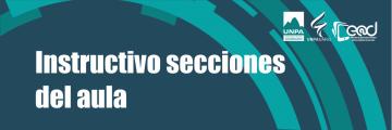 #04: Secciones del aula virtual